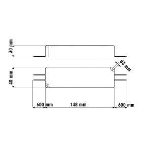 Schemat zasilacza Mean Well LPV-35-12