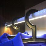 Profil LED DUO jako drążek na ubrania
